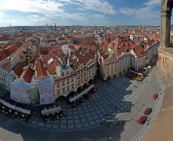 Praha rooftops 1 by Ziw