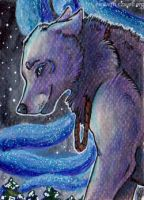 ACEO: White Exterior by Eleweth