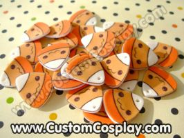 Kawaii candy corn charms WIP by The-Cute-Storm