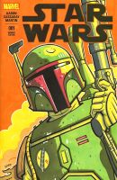 Boba Fett sketch cover 1 by JasonGoad