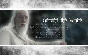 Gandalf the White by drkay85
