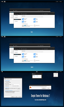 Deepin Theme For Windows 7 by Cleodesktop