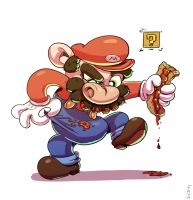 Mario by GrizzlySlippers