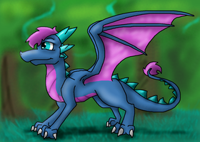 AT: Deep into the forest by Lydiadragon
