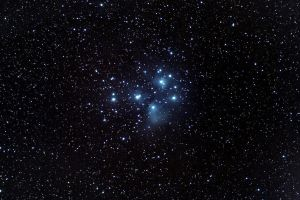 Pleiades or M45 by frenchbear