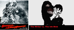 The Writer vs Ink Blob by TheDoctorWriter