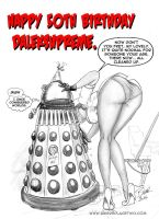 DalekSupreme's50th by Bikerbloke