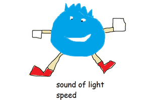 Sound of light speed by IndieChrome