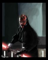 Darth Maul by cometa93