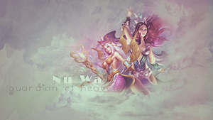 SMITE - Nu Wa, Guardian of Heaven by Shlickcunny