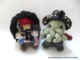Pirates of the Caribbean Amigurumi by AnyaZoe