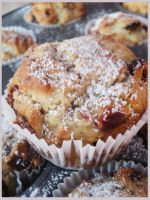 Vegan Cranberry Citrus Muffins by Herbivoree