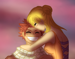 He likes her - Nalu by AnnMY