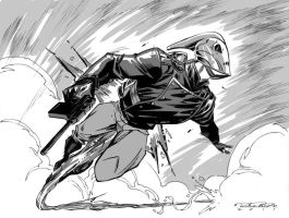 The Rocketeer by Randolph by AshcanAllstars