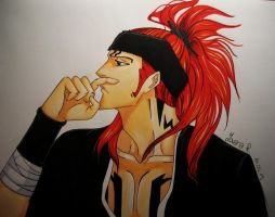 Abarai Renji by TrunksJovi