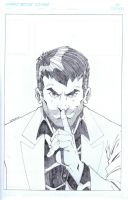 SCAM Number 1 Cover Pencils by Mulv