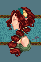 Grace and Poise by Amaryia