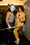 Casey Jones and April O'Neil by megmurrderher