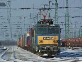 V63 029 wait with goods train by morpheus880223
