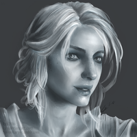 Ciri from Witcher 3 by Ly-s
