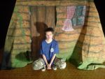the scenery for the play (Tom Thumb) by CTae