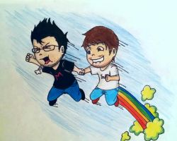 Cough and Farting Powers Activate!! by irukaluvsdumplings