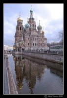 Church of Our Saviour on Spilled Blood by Alex--Torres