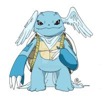 Wartortle (Champion Form) by Oigres-S