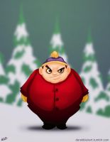 Daily Warm Up: Cartman by derekblairart
