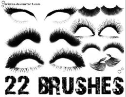 Eyelash Brushes by eriikaa