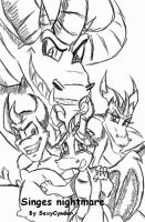 Singes nightmare by SexyCynder