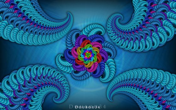Fractals with Photoshop by doubou34