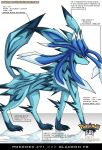 Pokedex 471 - Glaceon FR by Pokemon-FR