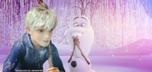 Jack Frost/Olaf by angeelous-dc