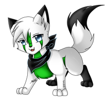 marcel the miniwolfie by bachadark93