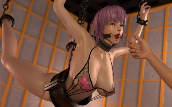 Ayane Hanging by Fakemodeo