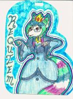 Requiem cosplaying Ice Queen - badge by TheOodWuf