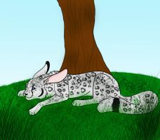 Under the tree by Saphiry