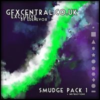 GFXCentral.co.uk Smudge Pack 1 by EdenEvoX
