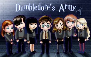 Dumbledore's Army by brunotsu