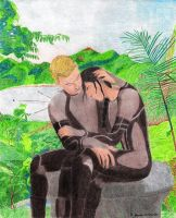Stay With Me - Peeta and Katniss by BGShepard