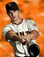 Ryan Theriot: SF Giants Magazine by vampire-L