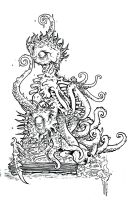 lovecraft art by mister-bones