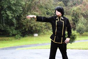 Lelouch in the rain by NitsukuCosplay