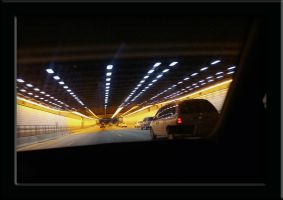 ted williams tunnel by pinkshoegirl