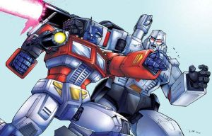 Optimus Prime Vs Megatron by ZeroMayhem