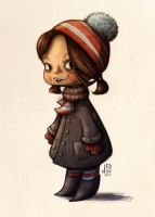 little girl by Iraville