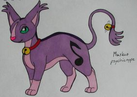 Cat Fakemon by Punkkis-chan