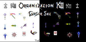 Organization XIII Cursor Set by Talianora
