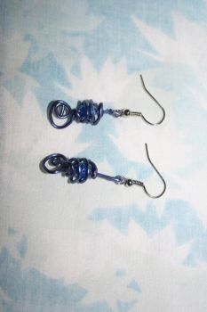Paper Clip Earrings by xewioso